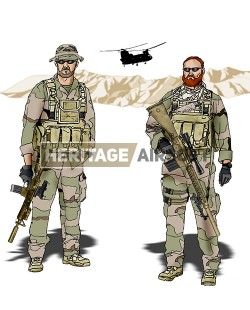 Tenue Airsoft : SEAL Red Wings