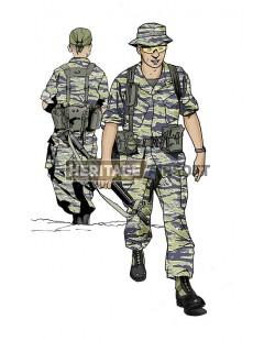 Tenue Airsoft : Forces Spéciales US Vietnam