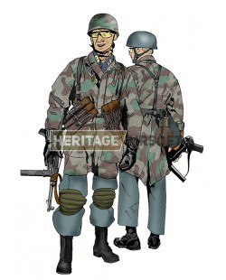 Tenue Airsoft : Parachutiste allemand WW2 (FJ)