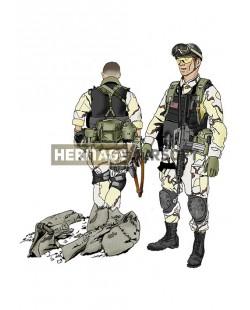 Tenue Airsoft : Delta Black Hawk Down