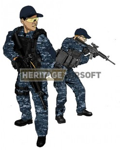 Tenue Airsoft : Battleship