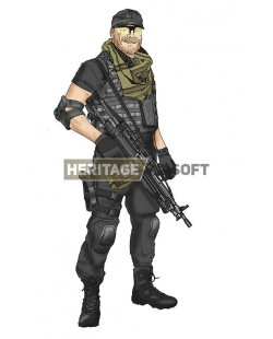 Tenue Airsoft : Randy Expendables 3
