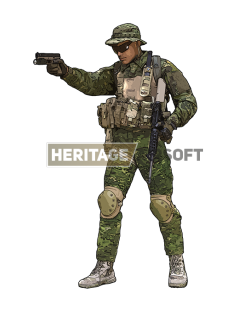 Airsoft Outfit: MultiCam Tropic