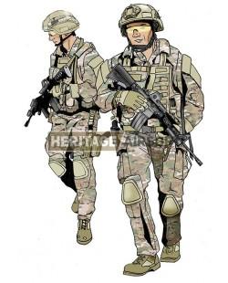 DEA Multicam outfit