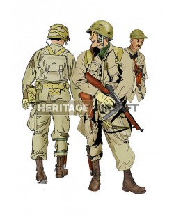 Tenue Airsoft : Parachutiste US M42, Normandie 1944