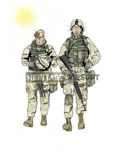 Tenue Airsoft : Generation Kill