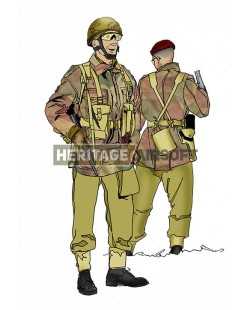 Tenue Airsoft : parachutiste anglais Seconde GM