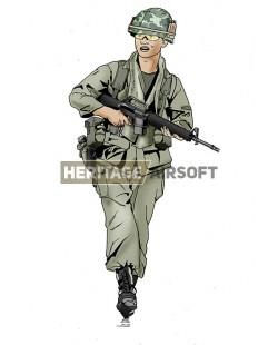 """Airsoft outfit: US Vietnam Soldiers """"Grunt""""Grunt US Vietnam Soldier"""