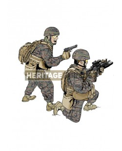 Tenue Airsoft : Marines MARPAT US