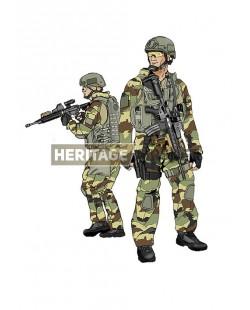 Tenue Airsoft : C.O.S. (Commandement des Opérations Spéciales) France