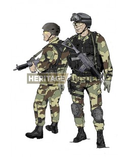 Tenue Airsoft : Commando Marine