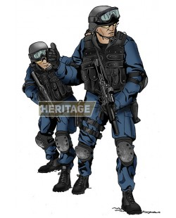 Tenue Airsoft : SWAT