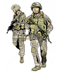 Tenue Airsoft : DEA Multi camo