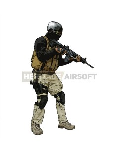 Tenue Airsoft : PMC Metal Gear Solid 4