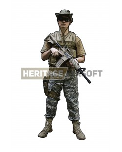 Tenue Airsoft : Strike Back Africa