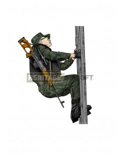Tenue d'airsoft : Sniper Russe