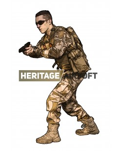 Airsoft Outfit : Desert Redemption DPM