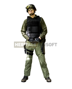 Tenue Airsoft : Interpolice
