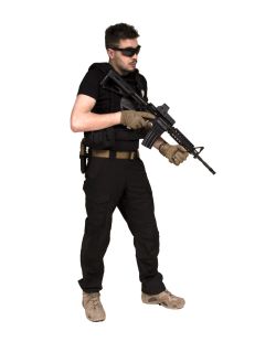 Tenue Airsoft : Tanto, contractor de 13 Hours