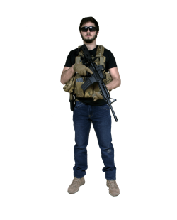 Tenue Airsoft : Tig, contractor de 13 Hours