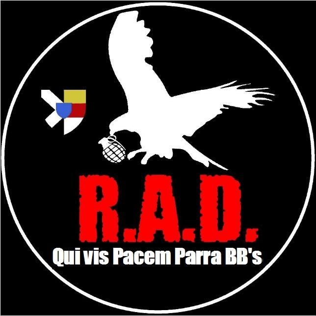 logo Rambouillet Airsoft Division (RAD)