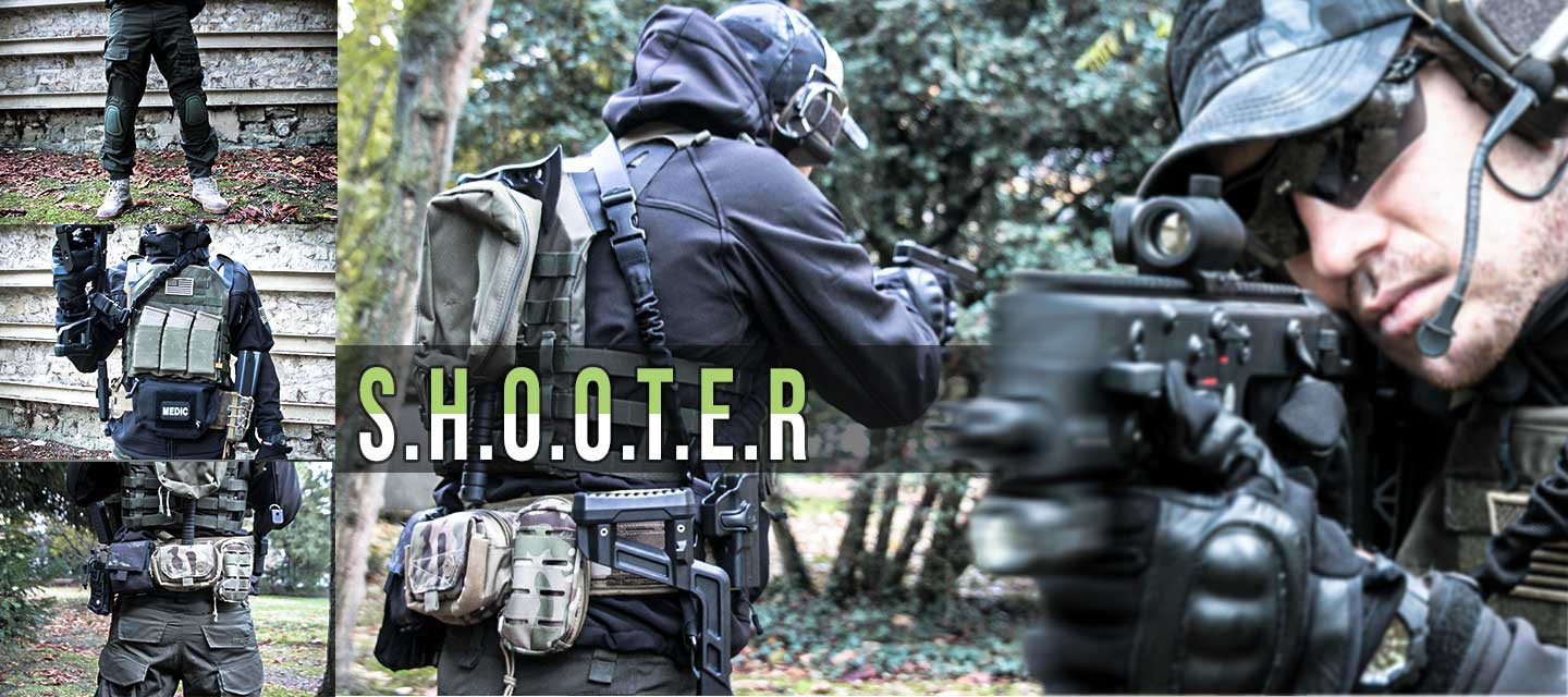 Airsoft Loadout Shooter Softshell Jack Tactical Black Airsoft pant G2 knee pads Olive Gilet JPC OD Olive