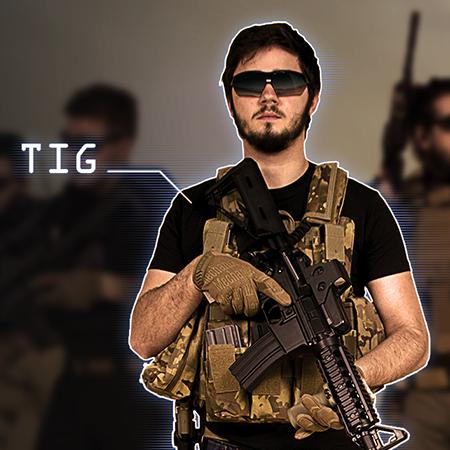 "TIG : Tenue d'AIrsoft contractor inspirée du film ""13 Hours"""