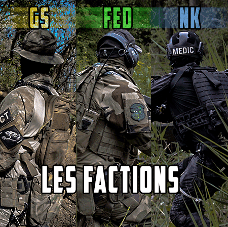 Dress code ou tenue pour les parties d'Heritage-Airsoft