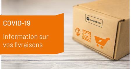 2020-3-20 La Poste Message about deliveries